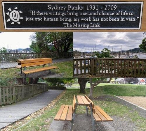 Sydney Bank's Memorial Bench
